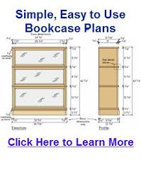 Free Woodworking Plans Easy by Best 25 Bookcase Plans Ideas On Pinterest Build A Bookcase