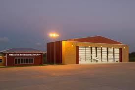 iad architects texas gulf coast regional airport hangar
