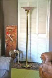 brass torchiere floor l vintage brass torchiere floor l kylerowling com