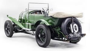 vintage bentley bentley u0027s first le mans racer on display at london show