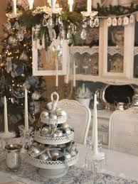 amazing silver and white christmas table decorations 56 about