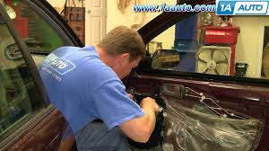 toyota side mirror replacement how to install replace side rear view mirror toyota avalon 95 99
