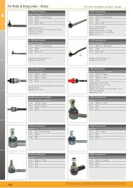tractor parts volume 2 front axle page 20 sparex parts lists