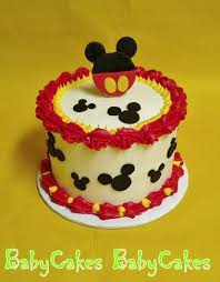 mickey mouse smash cake cake decorating pinterest smash