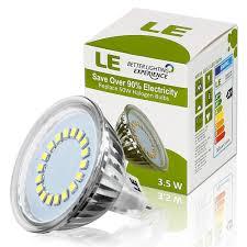 Mr16 Led Bulbs For Landscape Lighting by 3 5w Mr16 Gu5 3 Led Bulbs 50w Halogen Bulbs Equiv 12v Dc Only