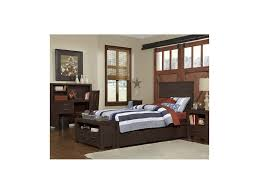 Espresso Twin Bed With Trundle Alex Bed Highlands Collection Ne Kids