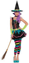 Halloween Costumes For Girls Size 14 16 Teen Neon Witch Ages 14 15 16 Girls Halloween Fancy Dress Witches