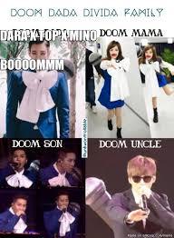 Dada Meme - doom dada divida family allkpop meme center
