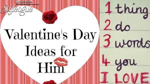 best valentines day gifts for him youtube