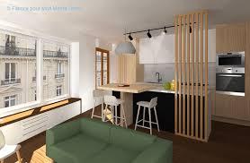 agencement cuisine ouverte avant après optimiser l espace avec une cuisine ouverte