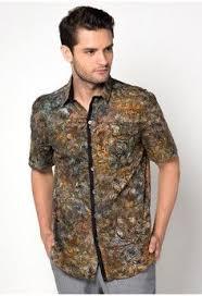 desain baju batik pria 2014 12 model baju batik kantoran terbaru untuk pria model baju batik