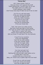 printable lyrics honey bee blake shelton 35 best blake shelton 2 song lyrics images on pinterest country