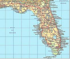 florida towns map florida map by city my