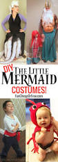 ariel and flounder halloween costumes diy little mermaid costume cutest family halloween costumes ever