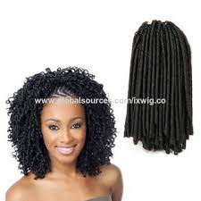 soft dred hair china hot sale high quality soft dread synthetic braiding wig