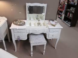 Flip Top Vanity Table Shabby White Flip Top Vanity Desk With Bench U2013 Sold
