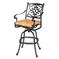 Fleur De Lis Patio Furniture Kingston Cast Aluminum Fleur De Lis Outdoor Patio Bar Set