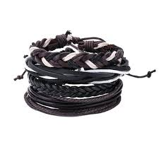 leather bracelet sets images Men 39 s leather bracelet sets 2018 styles fashion stark jpg