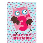 3rd birthday party invites medium