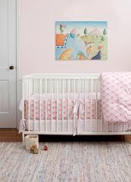modern crib bedding pink the holland decorate modern crib