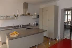 cuisine grise plan de travail noir cuisine grise avec plan de travail noir usaginoheya maison