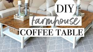Ikea Hack Coffee Table Diy Farmhouse Coffee Table Easy Ikea Hack