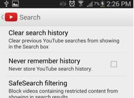 delete search history android how to delete history on android