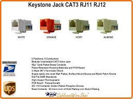 3 keystone voice jack almond