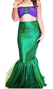 Women Halloween Costume Amazon Com Women Halloween Costume Cosplay Mermaid Fancy Dress