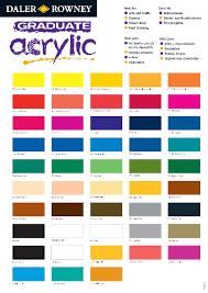 acrylic paint color mixing chart pdf color chart color color