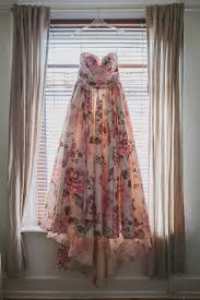 True Vintage 70 S Leonard Floral Pink Print A Wendy Makin Floral Gown For A Rustic And Vintage Inspired Wedding