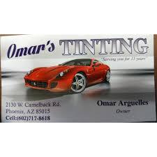 Mobile Window Tinting Phoenix Omar U0027s Window Tinting Llc 2130 W Camelback Rd Phoenix Az Auto