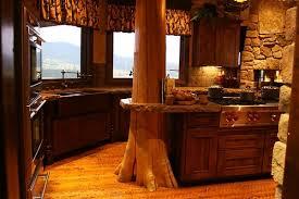 cuisines rustiques bois armoire de cuisine rustique urbantrott com