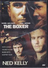 2 movies the boxer and ned kelly daniel day lewis heath ledger