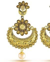 gold ear rings images buy amazing gold earrings ksf2647 at 12 99