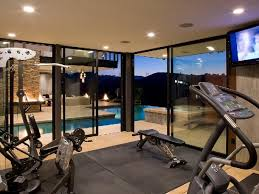 modern interiors designing gym room in home 2366 latest