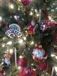 Firefighter Christmas Tree Ornaments fireman christmas tree ornaments red fire truck fireman