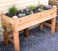 Raised Herb Garden Ideas Raised Garden Bed I One On My Deck Like This One That Is