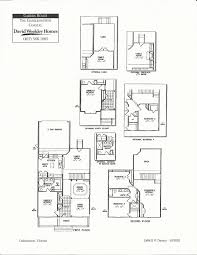 Florida Homes Floor Plans by Charlesworth Coastal Floor Plans In Celebration Fl David Weekly