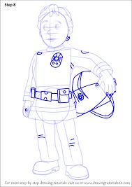 learn draw penny morris fireman sam fireman sam step