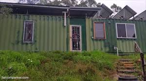 aussie couple u0027s off grid shipping container home