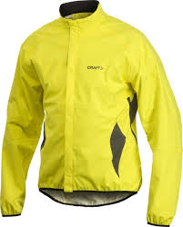 hi vis cycling jacket craft mens active bike rain jacket tourcycling com