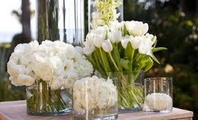 white centerpieces white wedding centerpieces hi miss puff