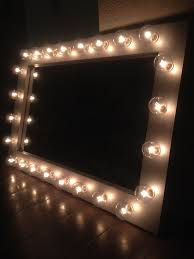 silver belle lighted vanity mirror home pinterest lighted
