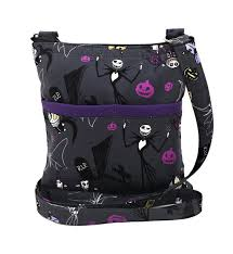 nightmare before crossbody bag skellington