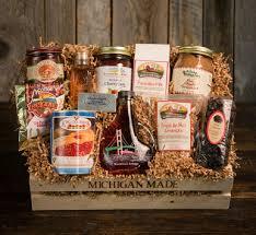 breakfast gift baskets mighty mackinac brunch michigan gift baskets