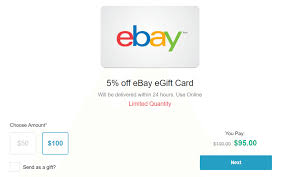 buy discount gift cards retailmenot expired 100 ebay giftcard for 95 via retailmenot doctor of credit