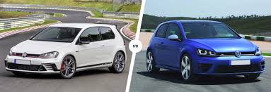 volkswagen gti racing vw golf gti clubsport s vs golf r comparison carwow