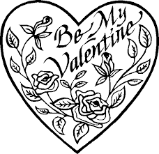 valentine coloring pages free heart printable cards