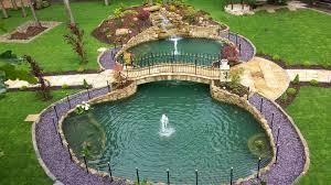 pond u0026 garden construction koi water garden